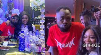 Jackie Appiah denies Funny Face a kiss in new hilarious video