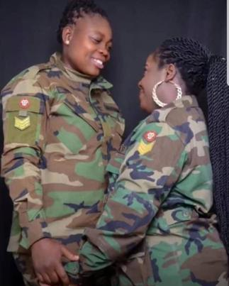 Check Out More Photos Of The Two Ghanaian lesbians Who Have Secretly Got Married