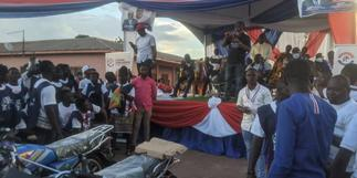 Nsiah-Asare supports Atwima-Kwanwoma NPP with motorbikes, bales of clothes