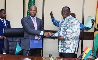 Trade Ministry signs framework for grant disbursement with AfCFTA Secretariat