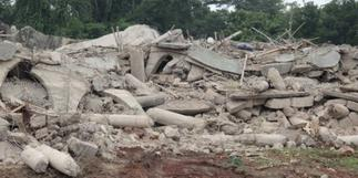 Akyem Batabi building collapse: NADMO ends search and rescue mission