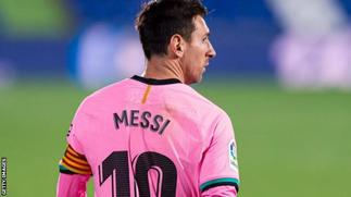 Messi could be playing better