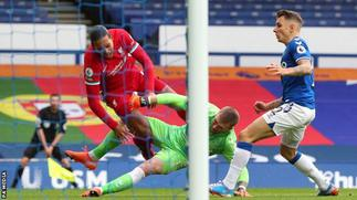 Pickford challenge on Van Dijk will not bring retrospective punishment