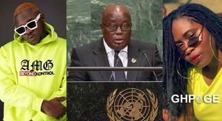 Lydia Forson hits back at Medikal for slandering celebs who bashed Akuffo Addo over EndSars brutality
