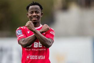 Yaw Yeboah speaks after Wisla Krakow's win over Mielec