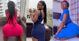 Ruby Flashy: See Videos of Lady who Twerks Harder Than Hajia Bintu