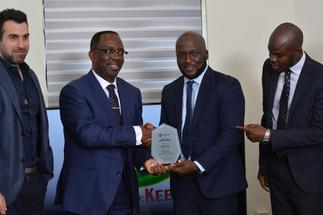KGL receives most outstanding customer award from Stanbic Bank