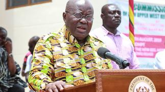 Nana Addo urges Volta Region voters to back him in 2020 polls
