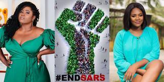 Kafui Danku and Lydia Forson blast celebs not sharing #EndSARS