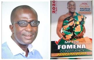 Andrew Amoako Asiamah is still MP for Fomena