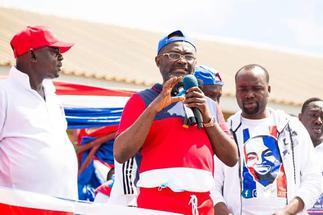 NPP gurus storm Akwatia for unity walk; Ama Sey 'missing'