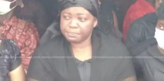 Late Mfantseman MP's wife submits nomination forms to EC