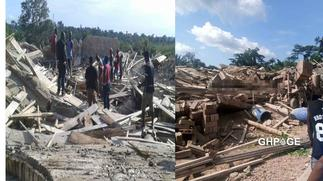 3-storey church building collapses and traps worshippers, 1 dead