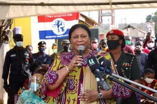 First Lady Tours La Dadekotopon