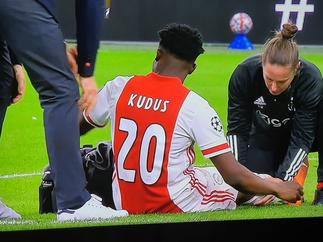 VIDEO: How Kudus Mohammed's Champions League debut ended in injury – Citi Sports Online