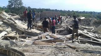 Church collapse: Rescue Operation ends; 22 bodies retrieved