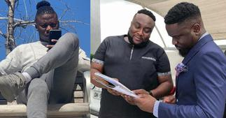 Stonebwoy Blocks Sarkodie: Photo Shows how he used to Respect him