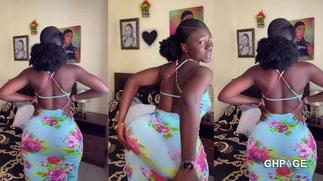 Hajia Bintu causes another 'confusion' on social media with wild twerking video