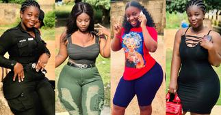 Ama Serwaa Dufie: 10 Photos and Details Of Curviest Police Lady