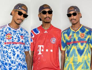 Adidas unveils jerseys designed by Pharrell for Europe's top clubs