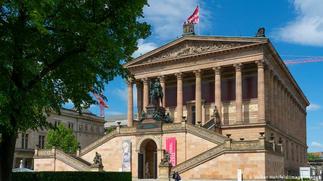 Artworks vandalised on Berlin's Museum Island