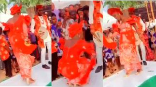 Bride surprises husband and guests with the craziest dance moves ever at their wedding [Video] » GhBasecom™