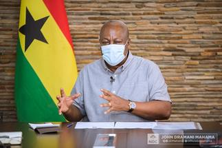 John Mahama Cautions NDC Supporters Against Voting Skirt And Blouse