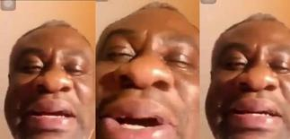 Old Man Seen Crying Bitterly In A Video After Suffering From A Broken Heart From A Young Lady Finally Speaks- Video » GhBasecom™