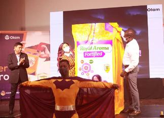 Olam launches Ghana's first brand of fortified rice for good health