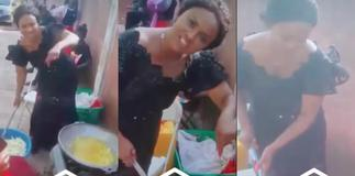 Nana Ama McBrown Forgets Stardom And Helps With Cooking At A Funeral
