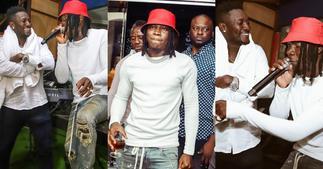 Asamoah Gyan: Photos of how Stonebwoy Stormed Footballer's bday Party