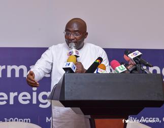 Bawumia speaks on 'future' of Ghana's economy Wednesday