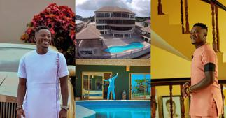 Asamoah Gyan Flaunts Plush Mansion & Cars On His 35th Birthday (Photos