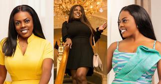 Nana Aba Anamoah Stuns Ghanaian men with Beautiful Video of Herself