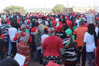 Tamale: NDC members walk in honour of Rawlings