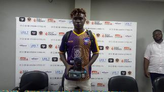 2020/21 GPL: Patrick Yeboah rewarded with MoTM after remarkable display against Legon Cities FC