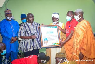 Yendi community hails Bawumia after his completion of Yendi Mosque