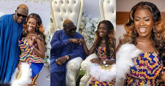 Fella Makafui: Medikal must pay my bride price again; I am too pretty