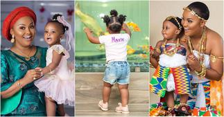 Baby Maxin: McBrown's Daughter wows fans with Beautiful Photo