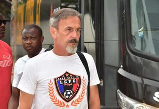 Legon Cities sack head coach Goran Barjaktarevic after 17 games in charge