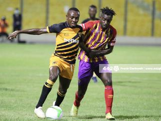 AshantiGold midfielder David Abagna satisfied with draw against Hearts of Oak