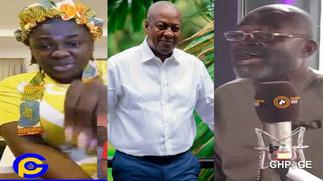 Tracey Boakye replies Ken Agyapong after saying his comments about her and Mahama was a joke