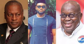 Prince David Osei: Actor won't vote for NDC Because he is wise