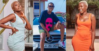 Fella Makafui rides on expensive yacht while on vacation in Dubai