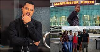 Van Vicker Flaunts His Handsome Only Son VJ On 12th Birthday