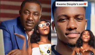 Ghanaian Lady Vows To Date Either Osei Kwame Despite Or His Son
