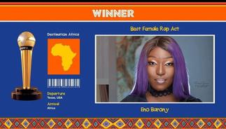 Eno's AFRIMMA win a disgrace to Ghana & VGMA