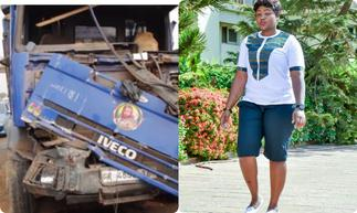 Tears Flow As Beautiful Nurse Dies After Being Knocked Down By A Tipper Truck » GhBasecom™