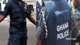 Policeman arrested after CCTV captured him stealing GHC690 coins at a bank