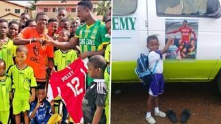 Netherlands-based Ghanaian defender Robin Polley launches foundation aged 21